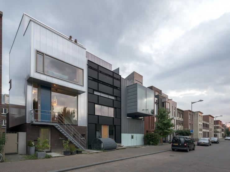 Nieuwbouw woonhuis Katendrecht